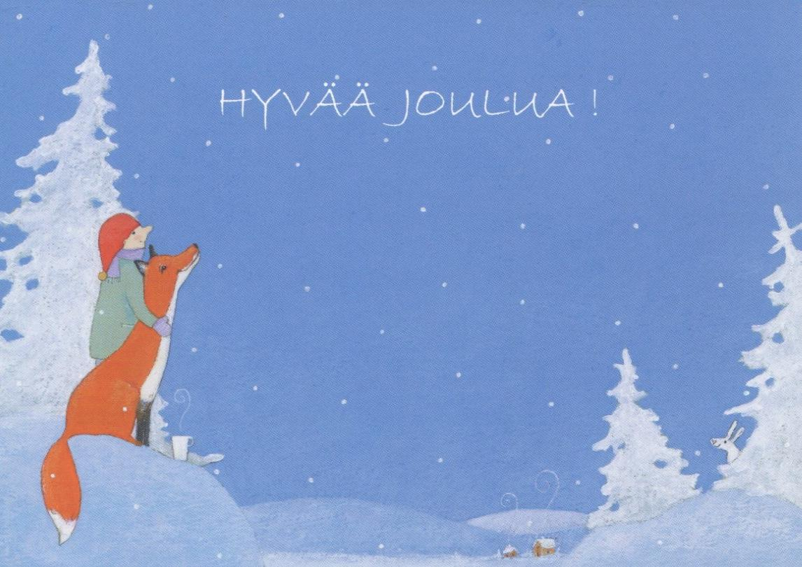 Joulukortti Hyvää Joulua