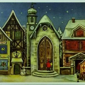 Miniatyyri joulukalenteri