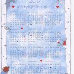 Kalenteri A4
