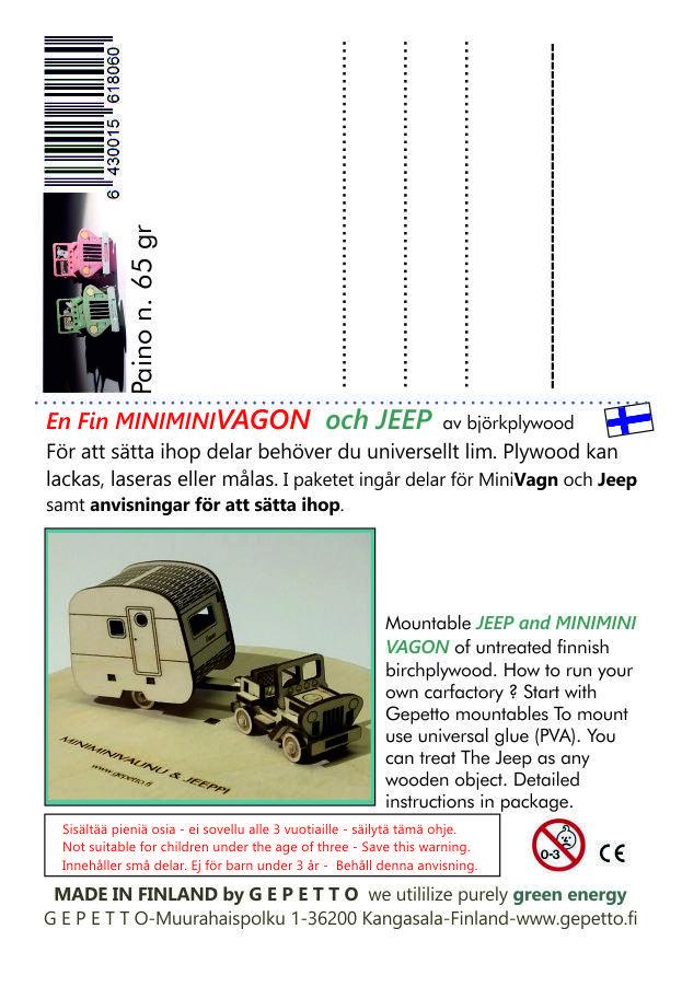 Retrovagn och Jeep