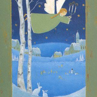 Talvienkeli kortti
