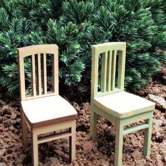 Art nuveau Chairs 1/18