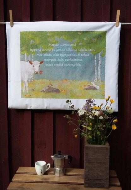 Leppoisa Lehmä liina lähdössä maailmalle