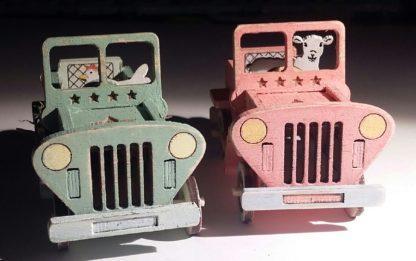 koottavat jeepit maalattuna