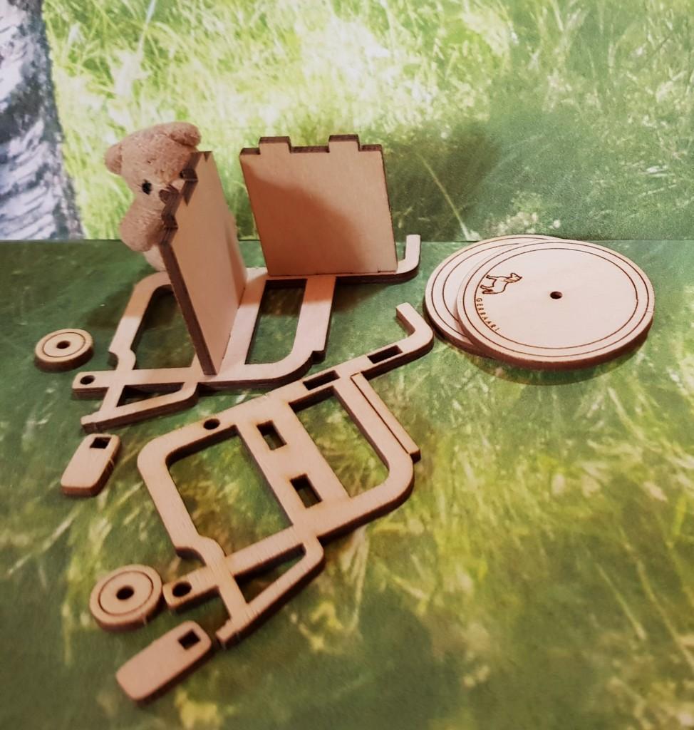 wheelchair for dollhouse