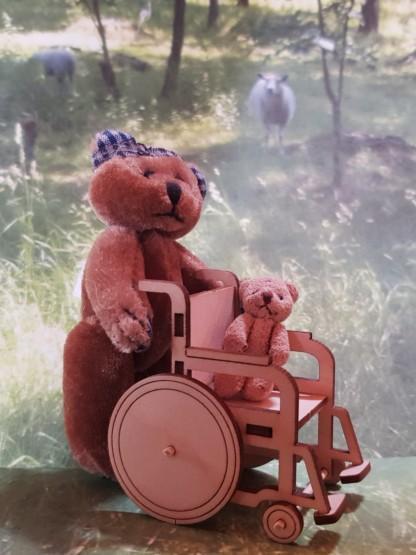 Koottava pyörätuoli