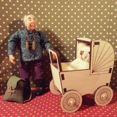 Lastenvaunu valmis