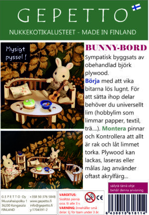 Bunny Bord