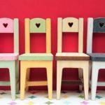Sydän tuolit