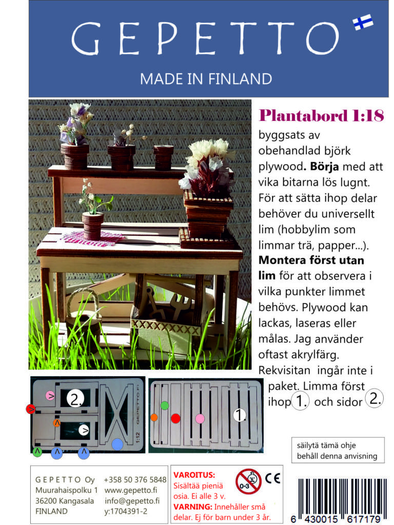 Plantabord