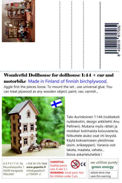 Postikortti Talo Aurinkoinen 1-144